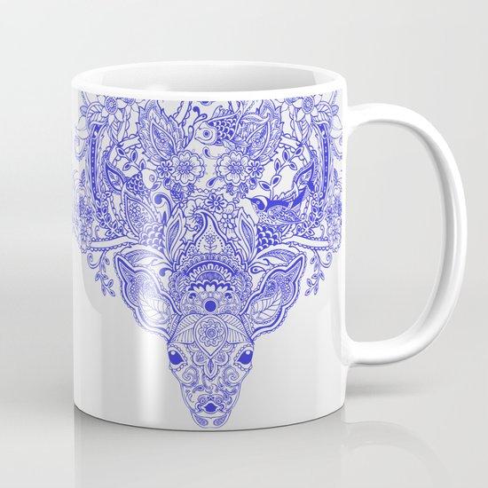 Little Blue Deer Mug