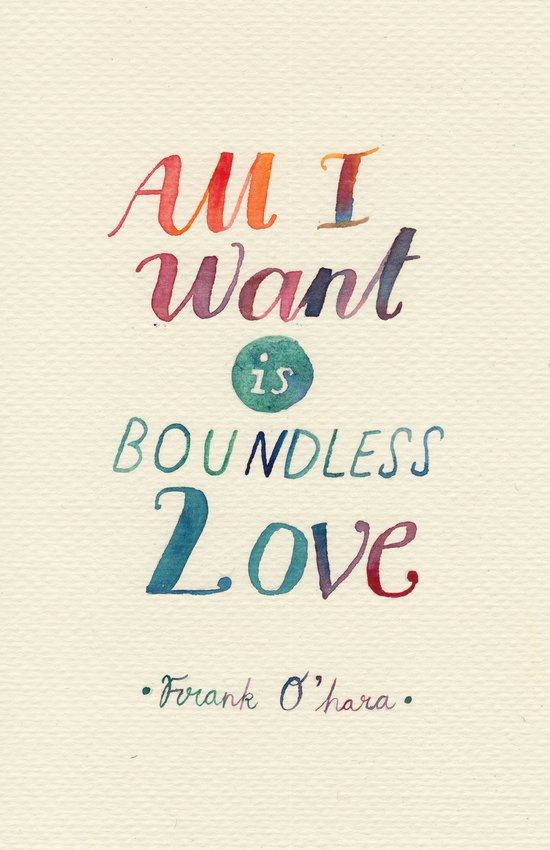 All I Want Is Boundless Love Art Print