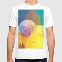 drmscpe Mens Fitted Tee White SMALL