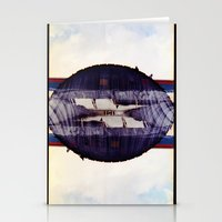 the look in your eyes from under away near breath (35mm multi exposure) Stationery Cards