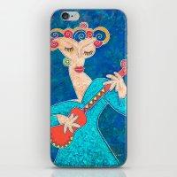 Red Guitar iPhone & iPod Skin