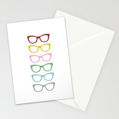 Glasses #3 Stationery Cards