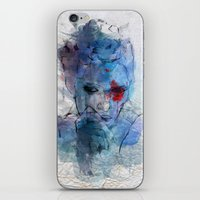 blue lover iPhone & iPod Skin