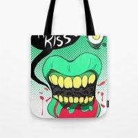 Kiss kiss Tote Bag