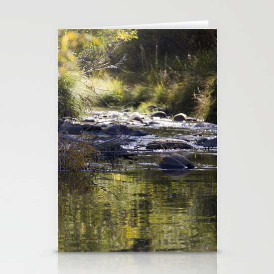 Creekside View Stationery Card