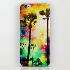 Fantasy sky palms iPhone & iPod Skin