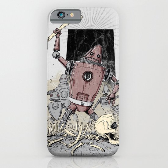 The Dusk of Man iPhone & iPod Case