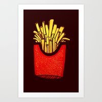 Would you like some fries with that? Art Print