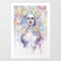 Emerged Art Print
