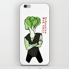 Sebastian Bok Choy iPhone & iPod Skin