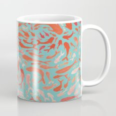 Koi - Coral & Turquoise Mug