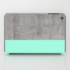Sea on Concrete iPad Case