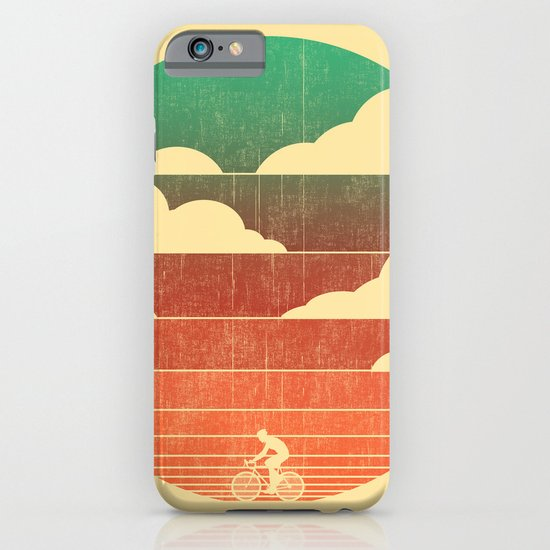 Go West (cycling edition) iPhone & iPod Case
