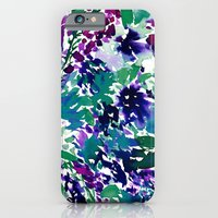 iPhone & iPod Case featuring La Flor by Amy Sia