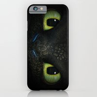 iPhone Cases featuring Toothless  by aleha