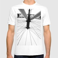 From Below Mens Fitted Tee White SMALL