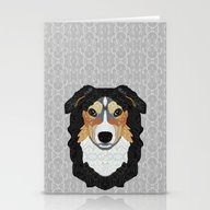 Zeke - Mountain Dog Stationery Cards