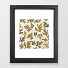 Parsley Autumn Framed Art Print