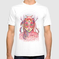 spectrum (alter ego 2.0) Mens Fitted Tee White SMALL