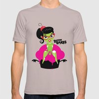 Bettie's Naughty DoomCakes Mens Fitted Tee Cinder SMALL