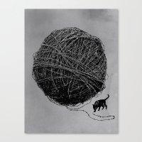 Curiosity Canvas Print