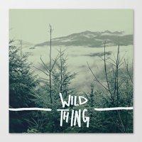 Wild Thing: Skagit Valle… Canvas Print