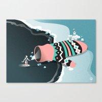 Mitten cave Canvas Print