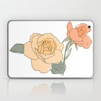 Handdrawn Roses Laptop & iPad Skin