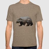 T-shirt featuring The Kodiak Brown Bear by Davies Babies