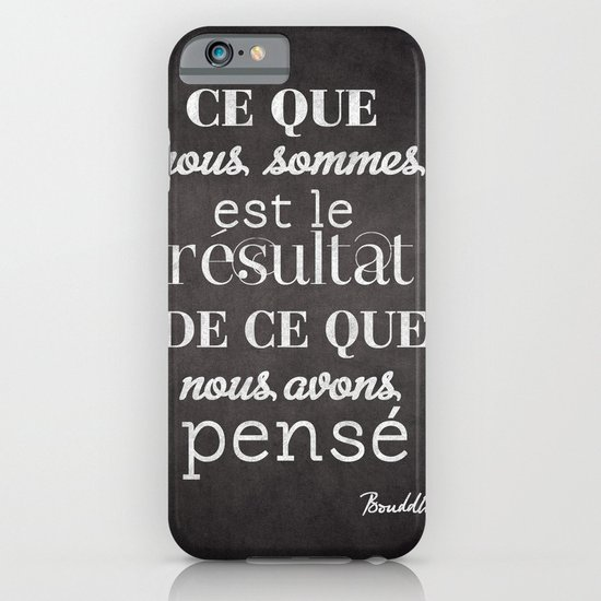 bouddha iPhone & iPod Case