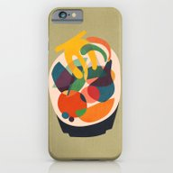 Fruits In Wooden Bowl iPhone 6 Slim Case
