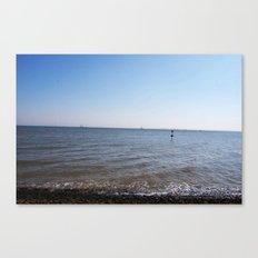Seaside Shoreline Canvas Print