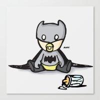 Batbaby Canvas Print