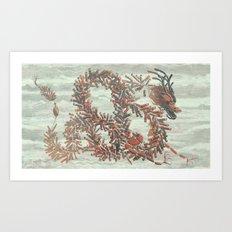 Firecrackers Art Print