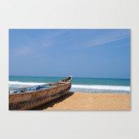 Local Fishing Boat Canvas Print