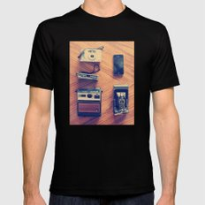 Cameras Mens Fitted Tee Black SMALL