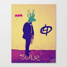 deer-head Canvas Print