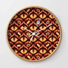 Smaug's Lair Pattern Wall Clock