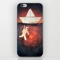 Ocean Diver iPhone & iPod Skin