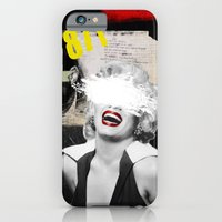 iPhone & iPod Case featuring Public Figures , Marilyn by Elo Marc