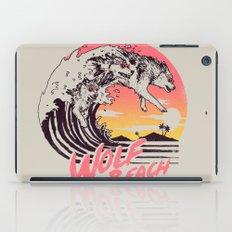 Wolf Beach iPad Case