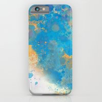 iPhone & iPod Case featuring Blue Invasion  by Lacey Jae
