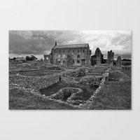 St Marys Priory Canvas Print