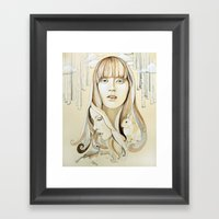 A Familiar Journey Framed Art Print