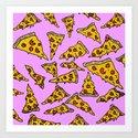 Pizza For Daze Art Print