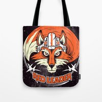 Red Leader Tote Bag