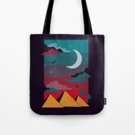 Tote Bag featuring Giza by The Child