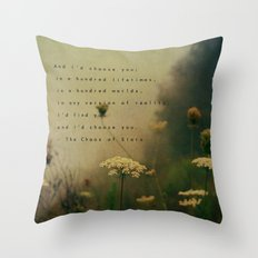 In Any World Throw Pillow