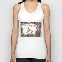 Mr.Brown is late for the market Unisex Tank Top