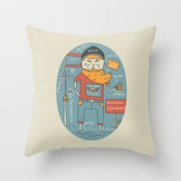 Berliner Kind Throw Pillow